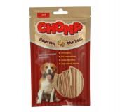 Dry Chicken Jerky Sandwich Dog Treat Chomp
