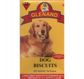 Liver & Meat Dog Biscuits 700 grams, Square Shape Glenand