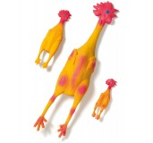 Chicken Dog Toy Latex 27cm Medium Karlie