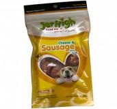Jerhigh Cheese and Sausage Dog Treats - 100 gm