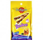 Pedigree Dog Treat Rodeo Chicken & Liver Flavour -  90 gm