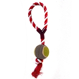 PetSpot Ball Tug Toy  With Loop - Large