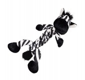 KONG Braidz Zebra Dog Toy -Medium