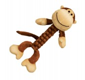 KONG Braidz Monkey Dog Toy - Medium