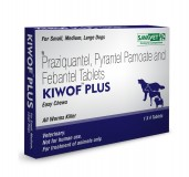 Savavet Kiwof Dewormer  For Dog - 4 Tablets
