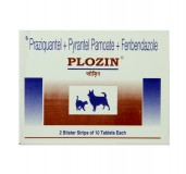 Pfizer Plozin Dewormer For Dog - 20 Tablets