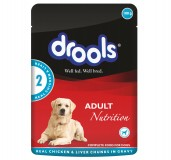 Drools Adult Dog Chicken & Liver Gravy Pouch - 100 gm