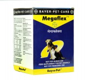 Bayer Megaflex Joint Supplement  For Dog & Cat - 100 gm