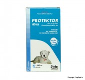 Cipla Protektor Anti Flea & Tick Solution For Small Dog - 0 to 10 kg
