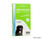Cipla Protektor Anti Flea & Tick Solution For Large Dog - 20 to 40 kg