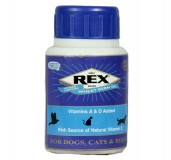 Rex Fortified Wheat Germ Oil Supplement For Dog - 100 ml