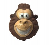 Karlie Vinyl Monkey Dog Toy 8 Inch