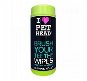 Pet Head Teeth Wipes for Dogs - 50 Wipes