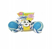 Pet Brand Wow Tennis Ball Dumbell Dog Toy - Regular