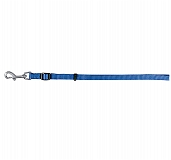 Trixie Classic Lead-Fully Adjustable Medium - 20 mm, Blue
