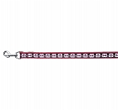Trixie Modern Art Lead Bordeaux Medium - 20 mm, Red