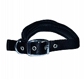 DogSpot Leash And Collar Set Padded - Black
