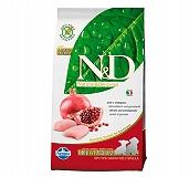 Natural & Delicious Grain Free Chicken & Pomegranate puppy Mini & Medium - 7 Kg