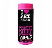 Pet Head Pretty Kitty Deshedding wipes - 50 Wipes