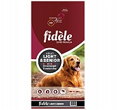 Fidele Light & Senior Adult Food  - 4 kg