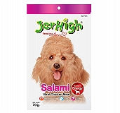 Jerhigh Salami Dog Treat - 70 gm