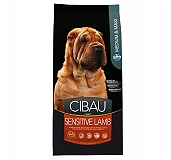 Cibau Medium / Maxi Breed Sensitive Lamb Adult Dog Food - 2.5 Kg