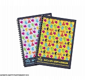 Precious Paws Spiral Notebook Cat - White And Multicolor
