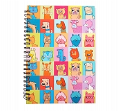 HUFT Multicolor Dog Spiral Notebook - Large