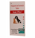 Merial Ivec Plus Dewormer - 10 Tablets