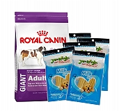 Royal Canin Giant Adult - 4 Kg With JerHigh Carrot Stick Dog Treats