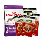 Royal Canin Giant Junior - 4 Kg With JerHigh Carrot Stick Dog Treats