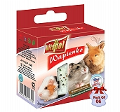 Vitapol Mineral Block For Rodents Popcorn - 40 gm (Pack Of 6)