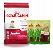 Royal Canin Medium Junior - 4 Kg  With Duck Slices