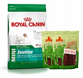 Royal Canin Mini Junior - 4 Kg  With Duck Slices