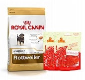 Royal Canin Rottweiler Junior - 3 Kg  With Chicken Slices