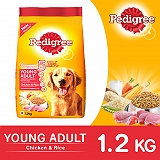 Pedigree Dog Food Young Adult Chicken and Rice  - 1.2 Kg