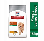 Hill's Science Puppy Large Breed Chicken & Oats Dry Dog Food - 15 Kg