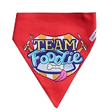 LANA Paws Team Foodie Adjustable Bandana -Small & Medium