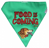 LANA Paws Game of Bones Adjustable Bandana -Medium & Large
