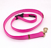 Forfurs Adjustable Protean All Breed Leash - Hot Pink