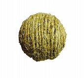 PetSpot Natural Sisal Scratch Ball Toy -  2.5 Inches