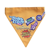 LANA Paws Best Dog Ever Adjustable Bandana Orange -Medium & Large