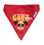 LANA Paws Gabru Dog Adjustable Bandana -Small & Medium
