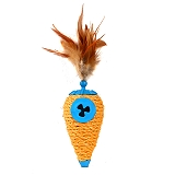 Lchic 4-In-1 Roll Play Cat Toy - Cone