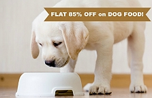 FLAT 85% OFF On All DOG FOOD!! DogSpot S..