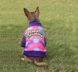 Touchdog Mix & Match Style Jacket Pink - XLarge