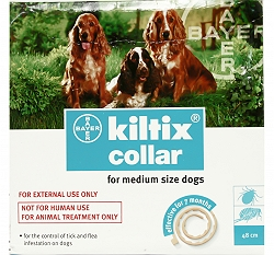 Kiltix Collar for fleas and ticks Medium Bayer