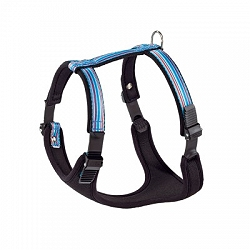Ferplast Ergocomfort Tattoo Dog Harness - Large - 25 mm - Blue