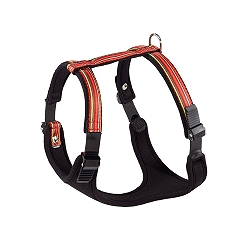 Ferplast Ergocomfort Tattoo Dog Harness - Small - 20 mm - Red