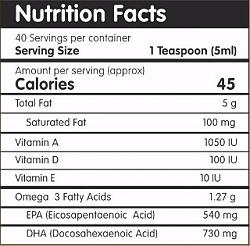 Petzo Omega Pure Omega 3 Supplement - 200 ml